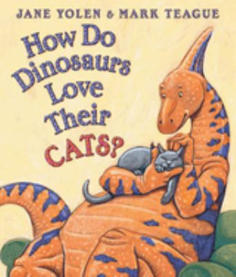 Cover image for How do dinosaurs love their cats?