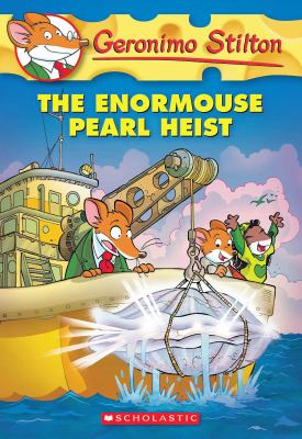 Cover image for The enormouse pearl heist