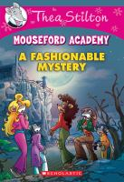 Cover image for A fashionable mystery. 8