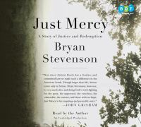 Cover image for Just mercy [sound recording (book on CD)]