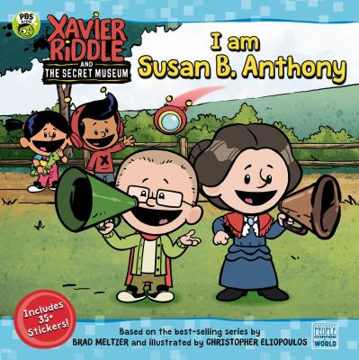 Cover image for I am Susan B. Anthony