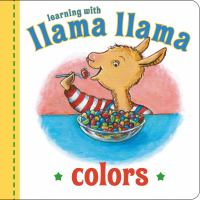 Cover image for LLAMA LLAMA COLORS.
