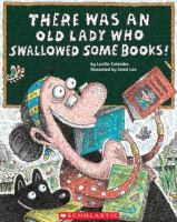 Cover image for There was an old lady who swallowed some books!