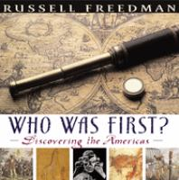Cover image for Who was first? : discovering the Americas