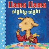 Cover image for Llama Llama, nighty-night