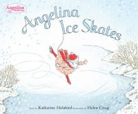 Cover image for Angelina ice skates