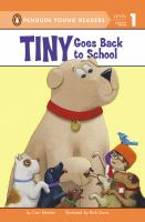 Cover image for Tiny goes back to school