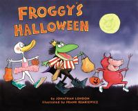 Cover image for Froggy's halloween