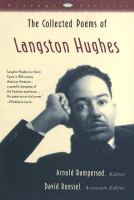 Cover image for The collected poems of Langston Hughes