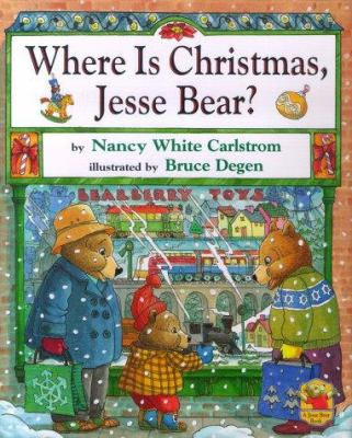 Cover image for Where is Christmas, Jesse Bear?
