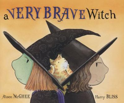 Cover image for A very brave witch