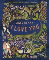 Cover image for Ways to say I love you