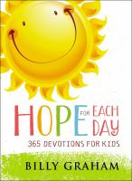 Cover image for Hope for each day : 365 devotions for kids