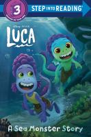 Cover image for A sea monster story