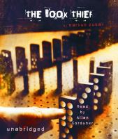 Cover image for The book thief [sound recording (book on CD)]