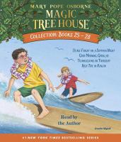 Cover image for Magic tree house. Books 25-28 [sound recording (book on CD)]