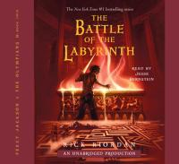 Cover image for The battle of the Labyrinth [sound recording (book on CD)]