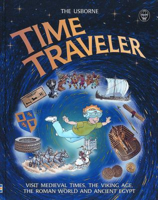 Cover image for The Usborne time traveler
