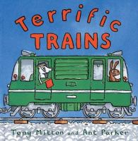 Cover image for Terrific trains