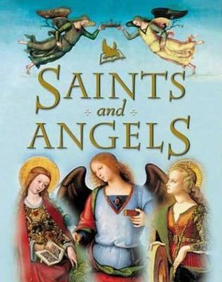 Cover image for Saints and angels