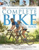 Cover image for Complete bike book