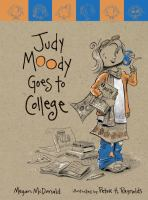Cover image for Judy Moody goes to college