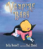 Cover image for Vampire baby