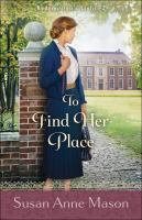 Cover image for To find her place
