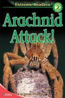 Cover image for Arachnid attack!