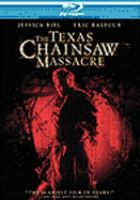 Cover image for The Texas chainsaw massacre [videorecording (Blu-ray)]