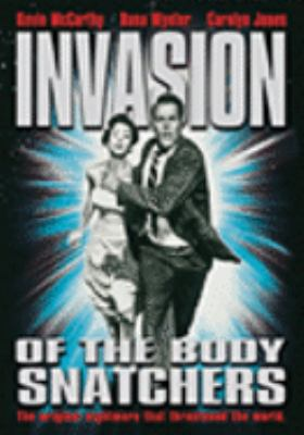 Cover image for Invasion of the body snatchers [videorecording (DVD)]