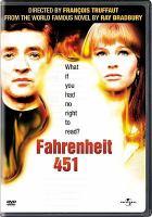Cover image for Fahrenheit 451 [videorecording (DVD)]