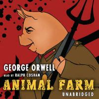 Cover image for Animal farm [sound recording (book on CD)]