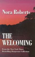 Cover image for The welcoming [large type]