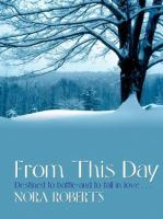 Cover image for From this day [large type]