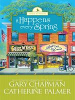 Cover image for It happens every spring  [large type]