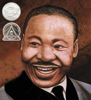 Cover image for Martin's big words: the life of Dr. Martin Luther King, Jr.