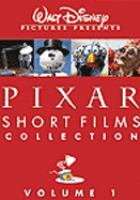 Cover image for Pixar short films collection. Volume 1 [videorecording (DVD)].