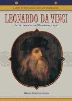 Cover image for Leonardo da Vinci : artist, inventor, and Renaissance man