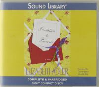 Cover image for Invitation to Provence / [sound recording (book on CD)] :