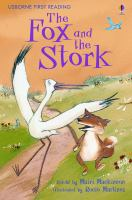 Cover image for The fox and the stork