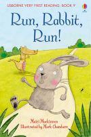 Cover image for Run, rabbit, run!