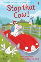 Cover image for Stop that cow!