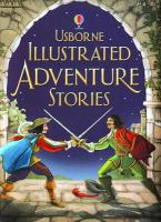 Cover image for Usborne illustrated adventure stories