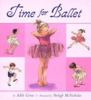 Cover image for Time for ballet