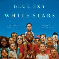 Cover image for Blue sky white stars