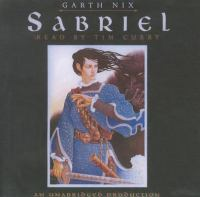 Cover image for Sabriel [sound recording (book on CD)]