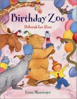 Cover image for Birthday zoo