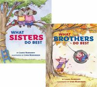 Cover image for What sisters do best ; What brothers do best