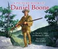 Cover image for A picture book of Daniel Boone